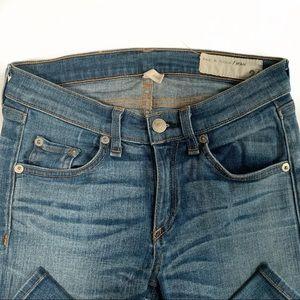 rag & bone Jeans - Rag & Bone Skinny Heathway Jeans Sz 24
